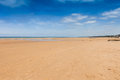 Omaha beach in normandy france Stock Images