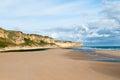 Omaha beach , Normandy, France Royalty Free Stock Photo