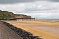 Omaha beach vierville france june the site of the us army d day landings is gradually being cleared by security in preparation for Royalty Free Stock Image