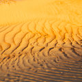 in oman the old desert and the empty quarter abstract  texture l Royalty Free Stock Photo