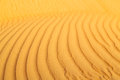in oman the old desert  texture line wave Royalty Free Stock Photo