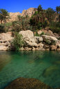 Oman: Wadi Tiwi Stock Photos