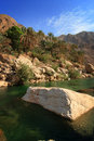 Oman: Wadi Tiwi Royalty Free Stock Photos