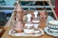 Omani coffee set Royalty Free Stock Photo