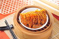 Omasum stomach steam cow dim sum Stock Photo
