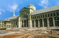 The Omayyad Mosque with clear blue sky Royalty Free Stock Photo