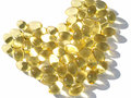 Omega 3 capsules Stock Photography