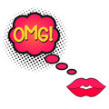 OMG, open female mouth