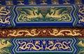 ναός ουρανού δράκων λεπτ&omicr Στοκ εικόνες με δικαίωμα ελεύθερης χρήσης
