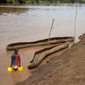 Omo River Royalty Free Stock Photo