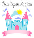 Once Upon a Time Fairytale Castle/eps Stock Photos