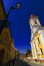 One of Baia Mare's historic churches. Royalty Free Stock Images
