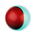One ball Royalty Free Stock Image
