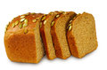 One bread Isolate Royalty Free Stock Images
