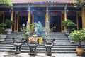 One of buddhist temples in hanoi vietnam Royalty Free Stock Image