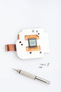 One camera chip sensor