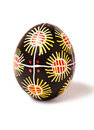 One Easter Egg Pysanka Royalty Free Stock Image