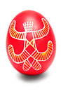 One Easter Egg Pysanka Stock Image
