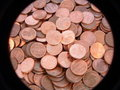 One euro cent coin Royalty Free Stock Photo