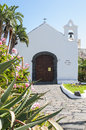 One of the famous churches on the tenerife Royalty Free Stock Photos