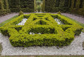 One of the formal gardens at biddulph grange stoke on trent englsnd Royalty Free Stock Images