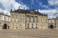 One of the four mansions on amalienborg square Stock Image