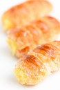 One fresh italian cream pastries Stock Image