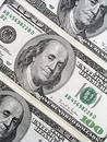 One Hundred Dollar Bills Royalty Free Stock Photos