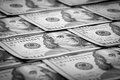 One hundred dollars us dollar bill macro Stock Images