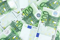 One hundred Euro banknotes Stock Image