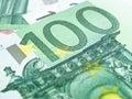 One Hundred Euros Stock Images