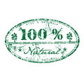 One hundred percent natural Royalty Free Stock Photo