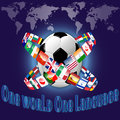 One language for One world Royalty Free Stock Photo