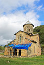 One little church of old orthodox monastery Gelati, Georgia Royalty Free Stock Photo