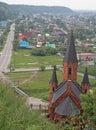 One of many churches in Tobolsk Royalty Free Stock Photo