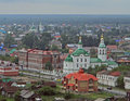 One of many churches in Tobolsk Royalty Free Stock Photo