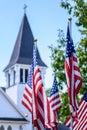 One Nation Under God - US Flag...