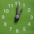 One o clock Royalty Free Stock Photo