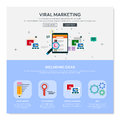 One page web design template. Royalty Free Stock Photo