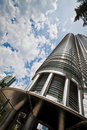 One of Petronas Twin Towers Stock Photos