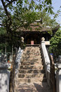 One pillar pagoda in hanoi vietnam Stock Images