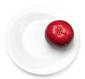 One red apple Royalty Free Stock Photography