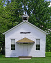 One-room schoolhouse Royalty Free Stock Image