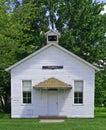 One-room schoolhouse Royalty Free Stock Photo