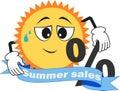 One september, summer sales, discounts