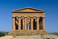 One sicily's most famous historical attractions doubt valley temples just outside agrigento splendid archaeological park Stock Photo