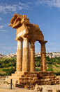 One sicily's most famous historical attractions doubt valley temples just outside agrigento splendid archaeological park Stock Image