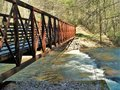Virginia Creeper Trail Royalty Free Stock Photo