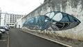 One of streets in center of Ponta Delgada.