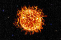 one sun in galaxy,element of this image furnished by nasa